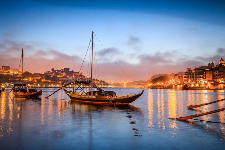 Rabello boat, porto, portugal