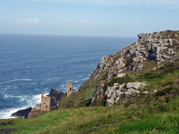 Poldark country in Cornwall
