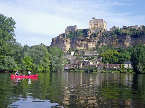 Dordogne River and Beynac castle