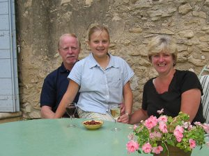 Wood family in Provence - 2004