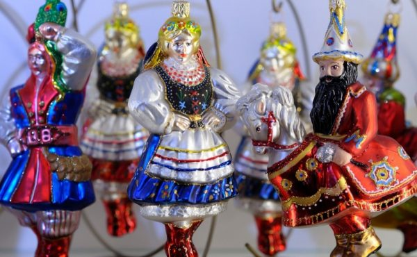 Polish Folklore Christmas Ornaments