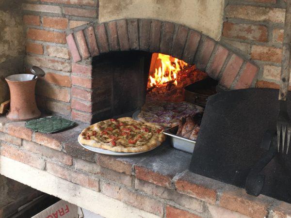 Stefano's oven