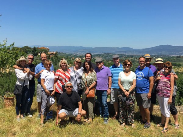 Chianti Experience group - June 2019