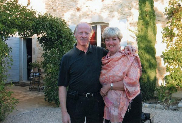 Kathy and Charley in the Luberon - September 2007