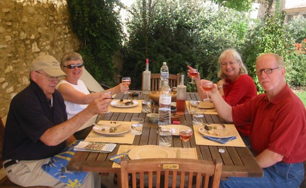First Luberon group - 2006