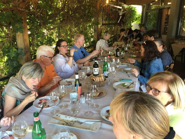 Charley's party in Chianti