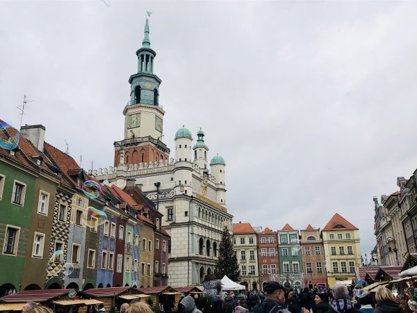 Christmas Market in Poznan, Poland