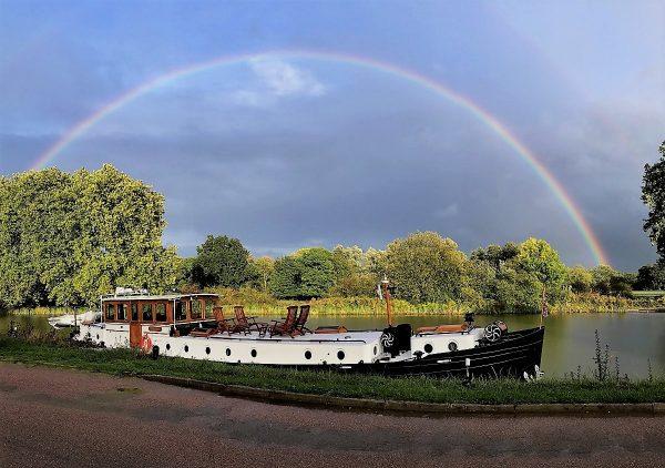 Rainbow over the Randle