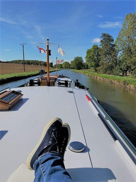 Barge Cruising Deck View