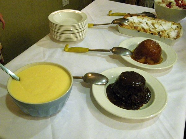 Cotswolds Experience - pudding buffet