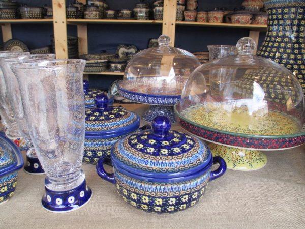 Beautiful Polish Pottery pieces.