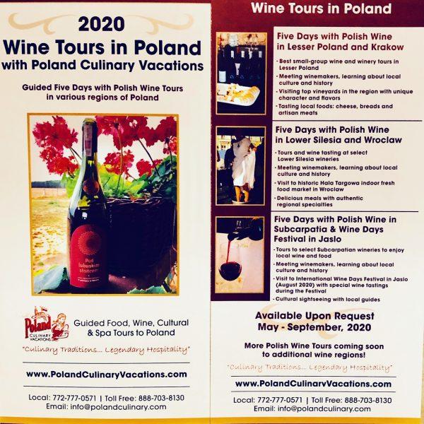 2020 Wine Tours to Poland