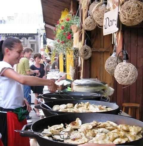 Pierogi Festival in Krakow, Poland