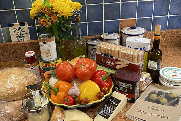 Tuscan meal - ingredients