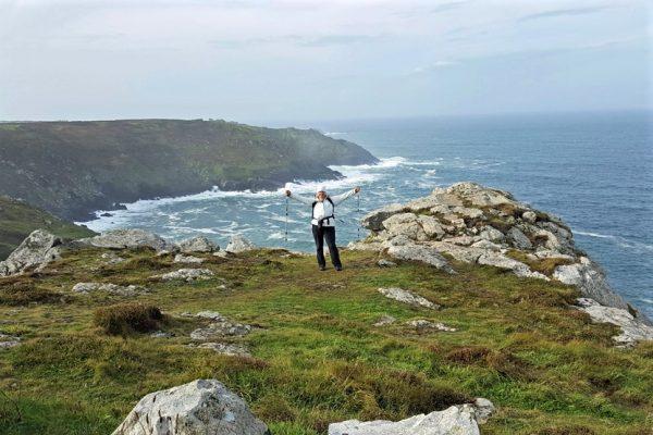 Kathy Wood in Cornwall