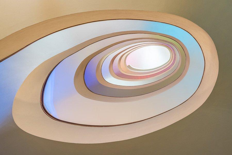 Spiral staircase, Porto, Portugal