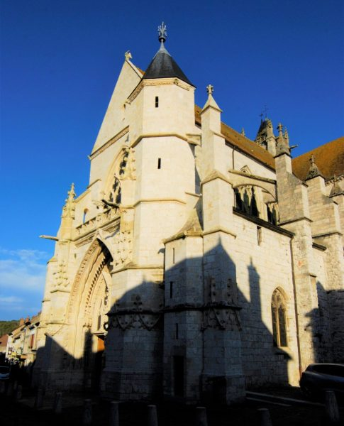 The 12th century church Notre Dame