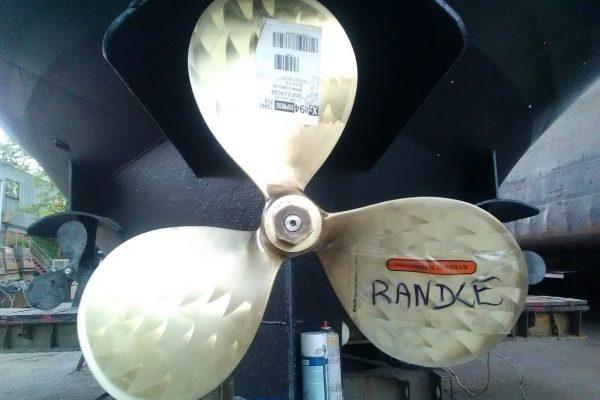 we renewed the propeller