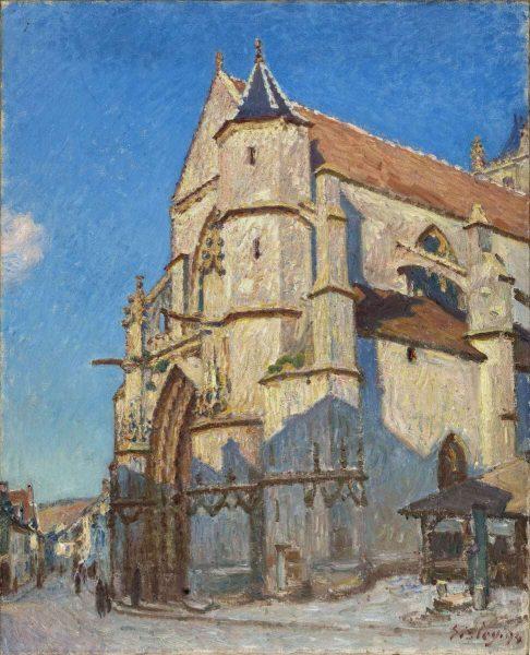as painted by Alfred Sisley in 1893