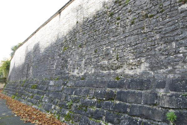 Remnants of the old town walls