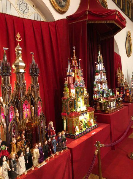 Krakow Christmas Cribs on dispay