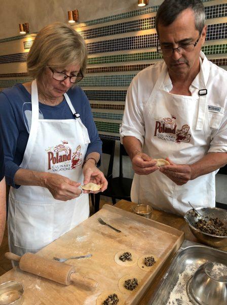 "Diane & Pierre - ""Lodz & Warsaw Culinary & Cultural Poland Culinary Vacation"""