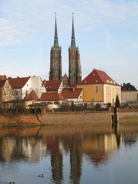 Ostrow Tumski in Wroclaw, Lower Silesia region of Poland