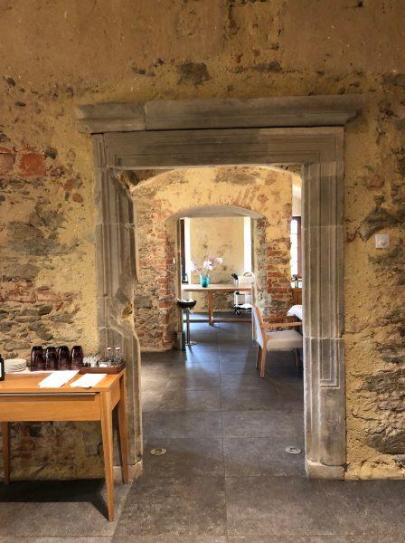 Interiors of Uroczysko Siedmiu Stawow Hotel & Spa in Lower Silesia region of Poland
