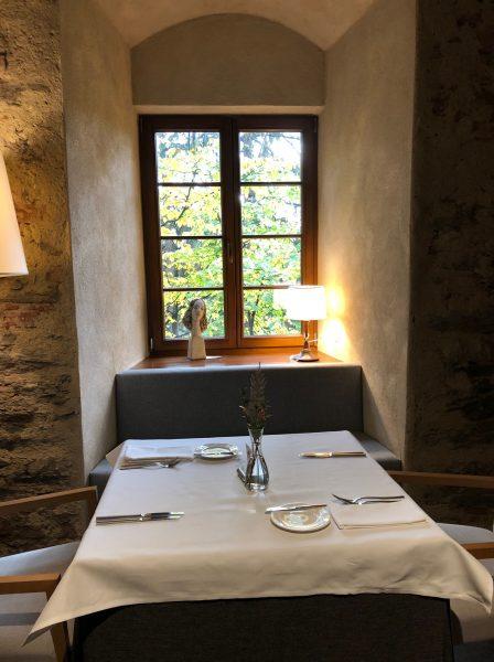 Fine dining at Uroczysko Siedmiu Stawow Hotel & Spa in Lower Silesia region of Poland