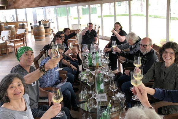 Wine Tasting at a local vineyard