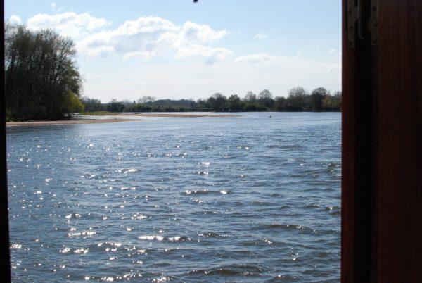 Crossing the Loire at Decize