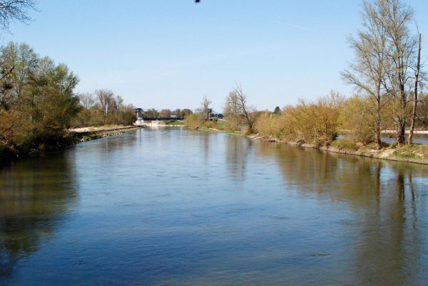 The Old Loire River Crossing