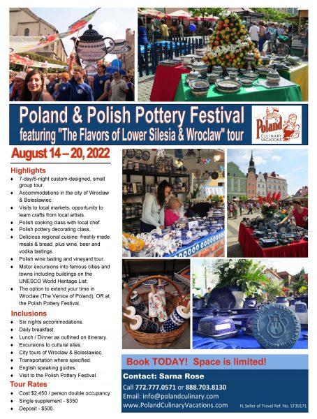 Polish Pottery Festival tour - August 2022