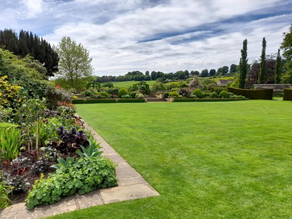 Stunning views of the garden and beyond