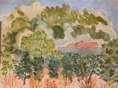 Paint Provence with Tess - chateau Roubine