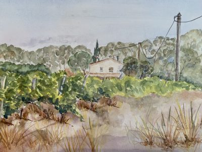 Paint Provence with Tess - country scene