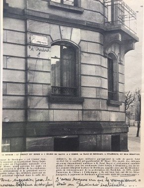 Newspaper article - Strasbourg