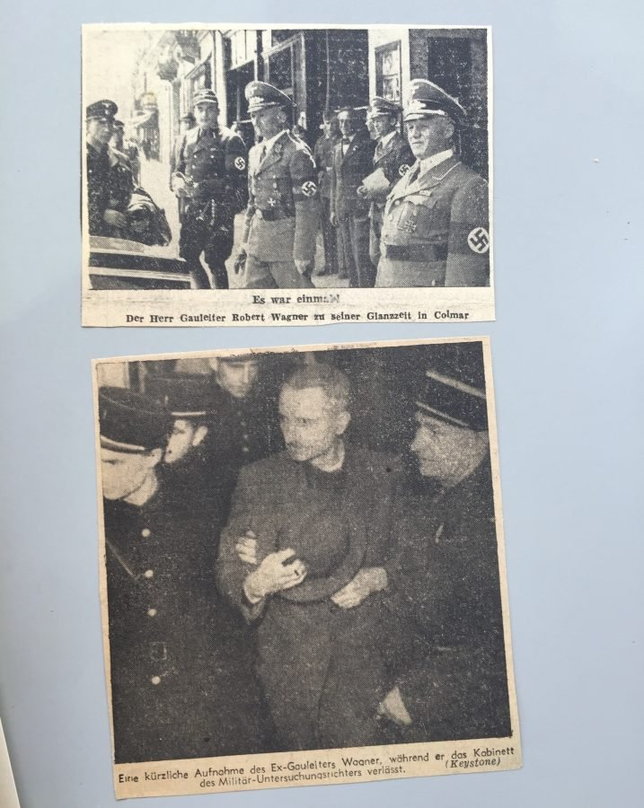 Alsace Experience Newspaper photos of Nazi leader