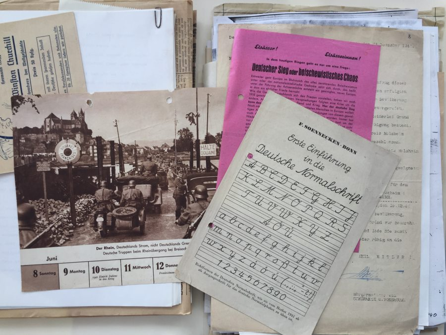 Alsace Experience German publications