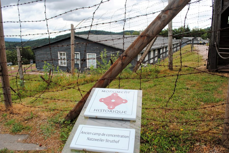 Nazi concentration camp in Alsace