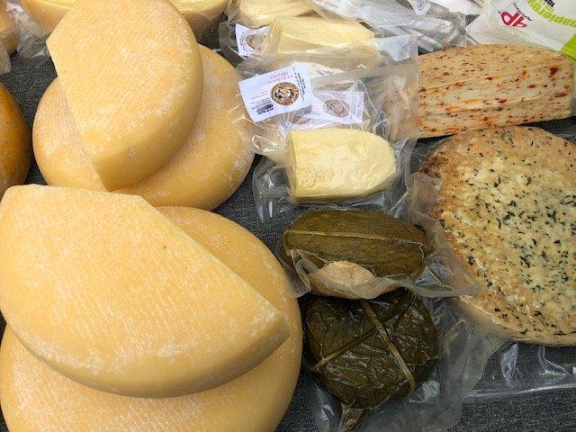 Artisan Lower Silesian cheeses