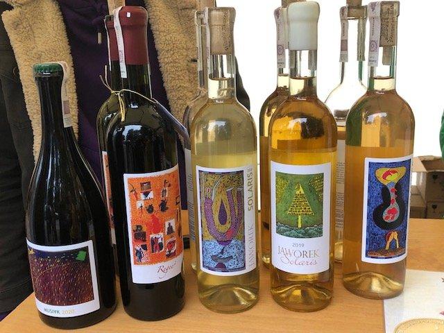 Jaworek wines in Lower Silesia, Poland